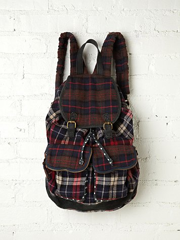 Portland Plaid Backpack