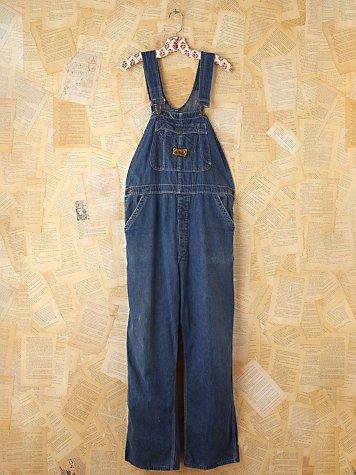 Vintage Dee Cee Denim Overalls
