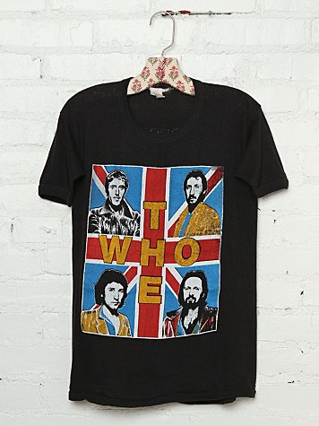 Vintage 1979 The Who Tee