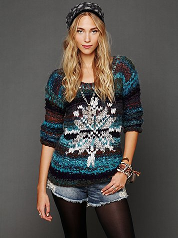 Queen of Snowflakes Pullover