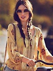 Centered Crochet Blouse