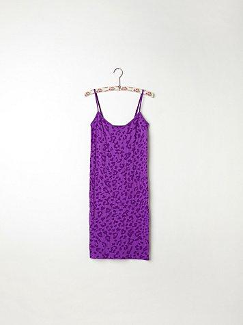 Leopard Print Slip