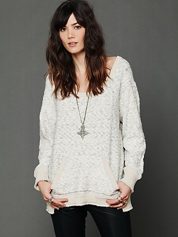 Jersey Trim Pullover