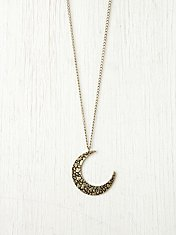 Moon Crescent Necklace