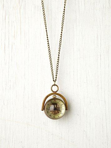 Sapphire Globe Necklace
