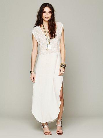 Applique Dashiki Dress