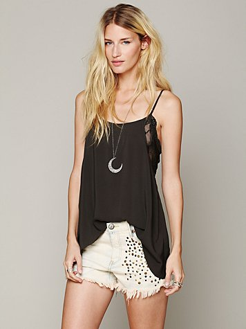 Lace Inset Swing Cami
