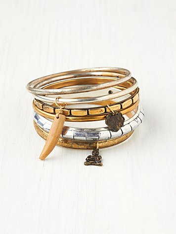 Charmed Hard Bangle Set