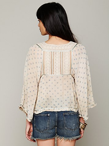 FP New Romantics Dot To Dot Blouse