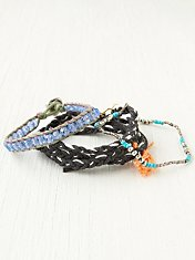 Bead and Braid Wrap Bracelets