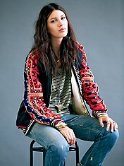 FP New Romantics Carnival Baseball Jacket