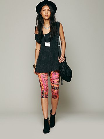 Printed Crop Legging