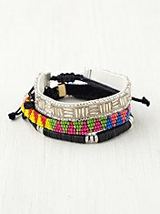 Skinny Bead Friends Bracelet Set