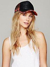 Mario Straw Trucker Hat