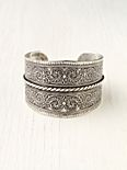 Silver Twist Detail Cuff