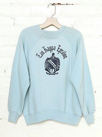 Vintage Tau Kappa Epsilon Sweatshirt