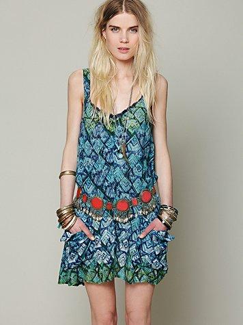 FP ONE Geo Shapeless Dress