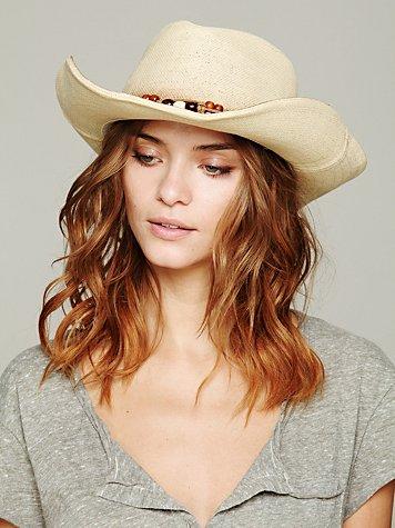 Shiko Straw Cowboy Hat