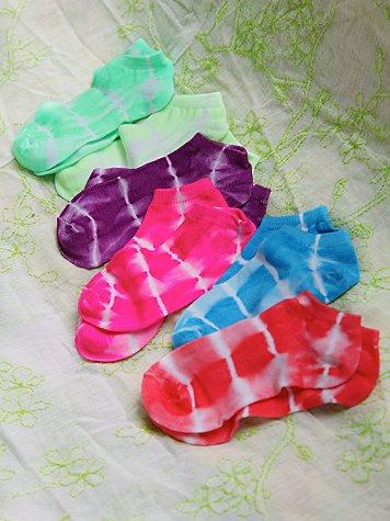 Tie Dye Anklet 6-Pack