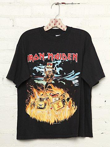 Vintage Iron Maiden Rock Tee