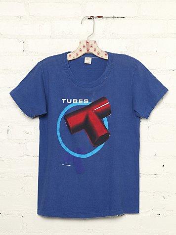 Vintage Tubes 1981 Tour Tee