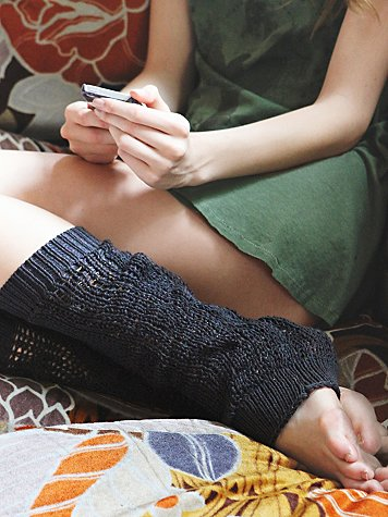 Open Stitch Legwarmer