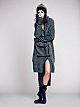 Drapey Wool Sweater Coat