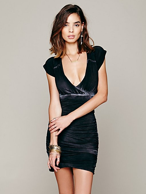Dare To Bare Mini Dress