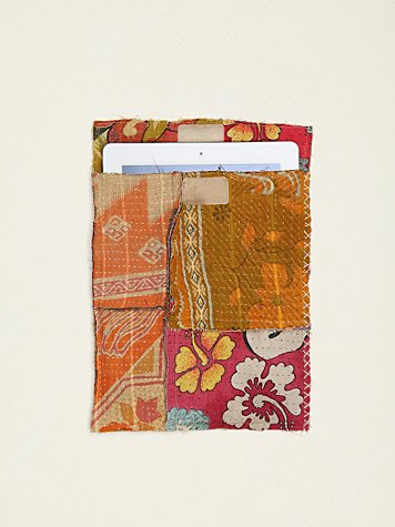 Vintage Kanta iPad Case