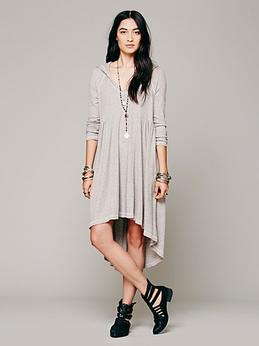 Comfy Hooded Dress
