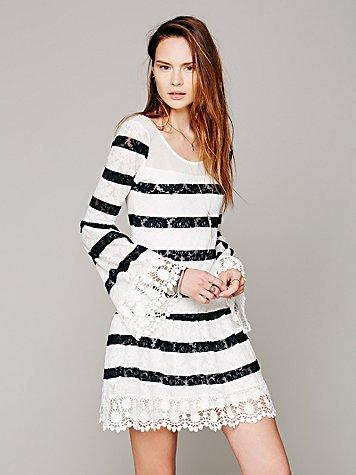 Cherry Blossom Lace Dress