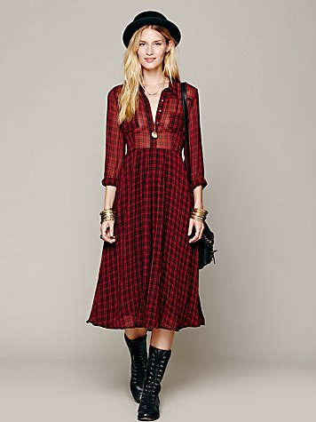 Lou Buttondown Dress
