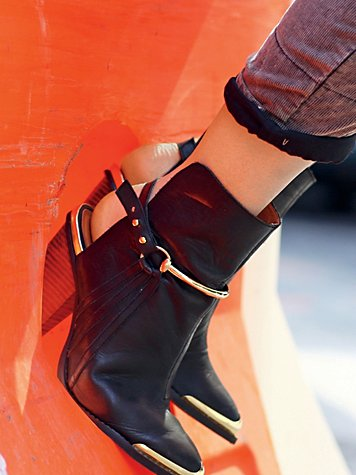 Equestrian Ankle Boot