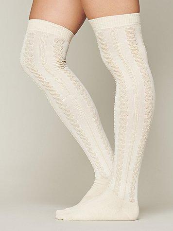 Aran Tall Sock