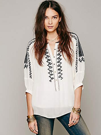 Love Lost Embroidered Tunic