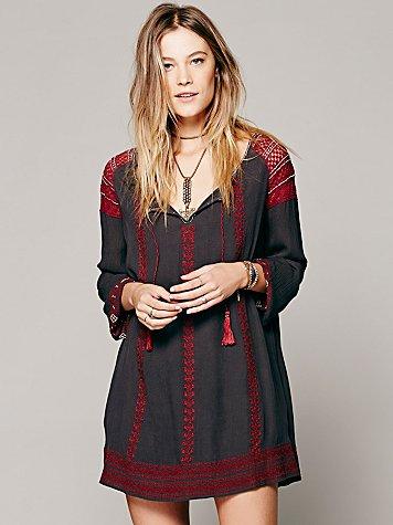 Wild Child Embroidered Dress