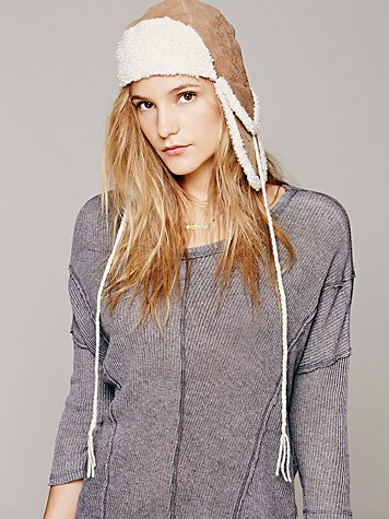 Sherpa Lined Trapper Hat
