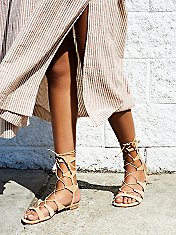 Lina Lace Up Gladiator Sandals