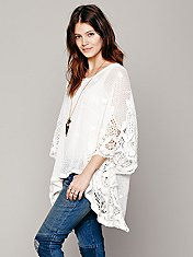 Lizzie Mesh Floral Pullover
