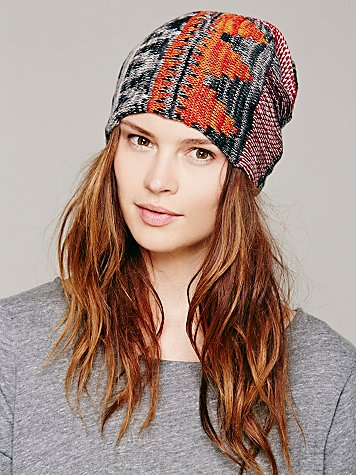 Lightweight Embroidered Beanie