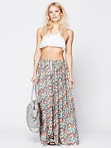 Break of Dawn Printed Maxi