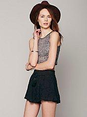 Karlie Eyelet Soft Short