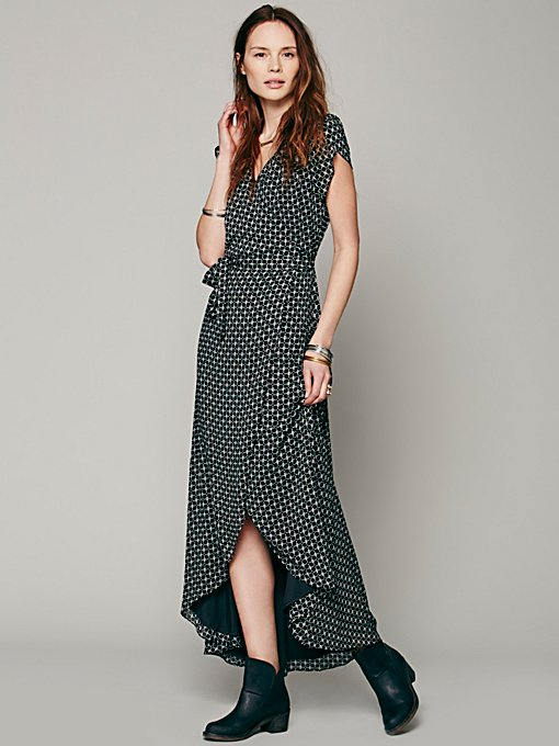 That's a Wrap Maxi Dress