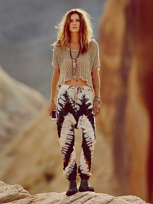 Desert Sun Tie Dye Harem