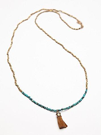 Ananda Tassel Necklace