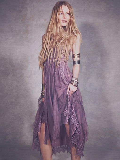 Studded Lace Party Dress