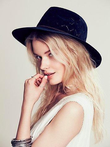 Stella Crochet Canvas Hat