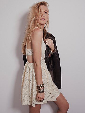 Sweet Jane Geo Lace Dress