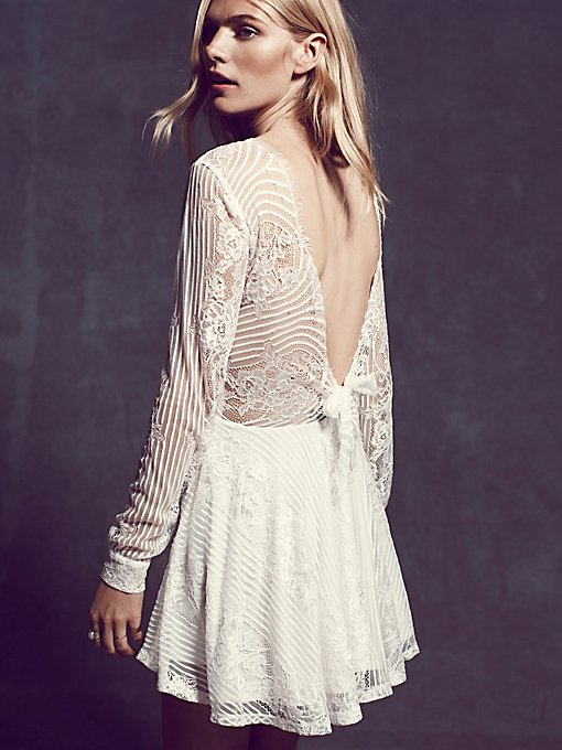 Lolo Lace Fit and Flare Dress