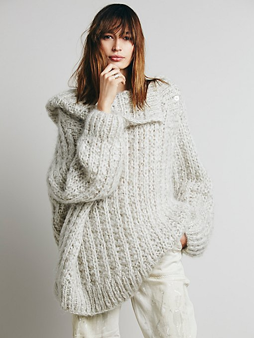 Chunky Solid Pullover